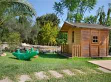 Garten und Kinderspielhaus Finca Mallorca mit Pool PM 3892