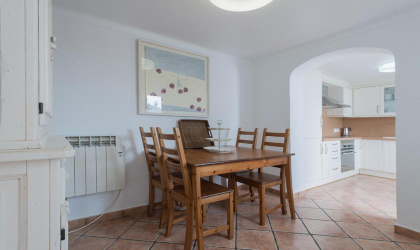 Küche Ferienhaus Mallorca Pollensa PM 3895