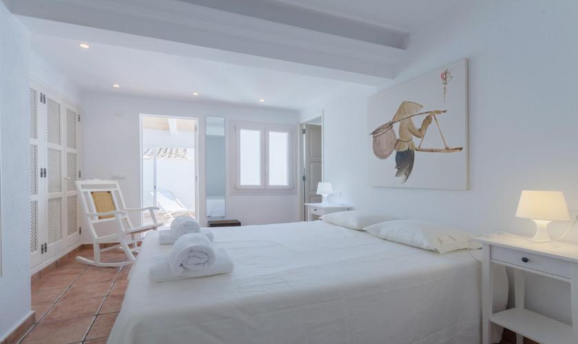 Schlafzimmer Ferienhaus Mallorca Pollensa PM 3895