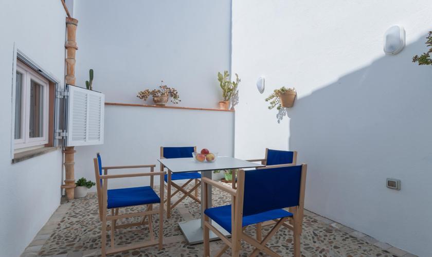 Dachterrasse Ferienhaus Mallorca Pollensa PM 3895