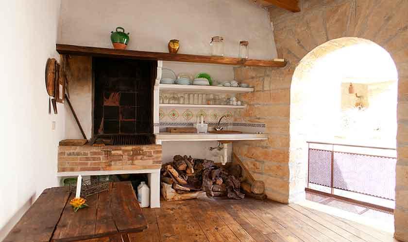 Barbecue Ferienhaus Pollensa 6 Personen PM 3898