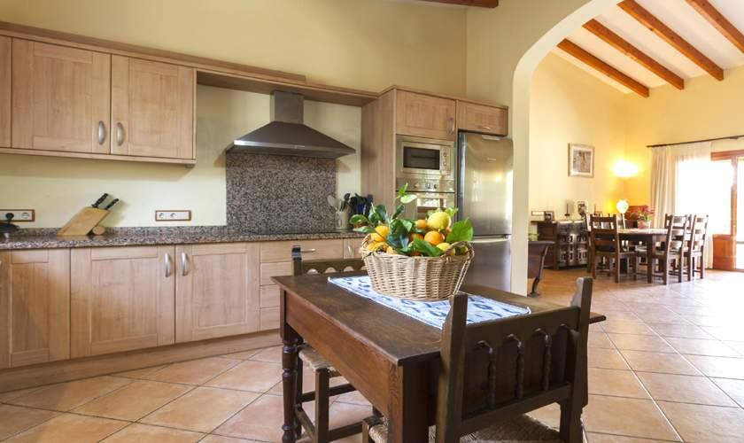 Küche Finca Mallorca Norden PM 3925