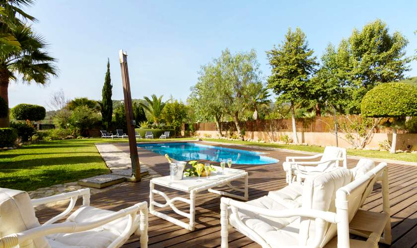 Pool Ferienhaus Mallorca 6 Personen PM 3925