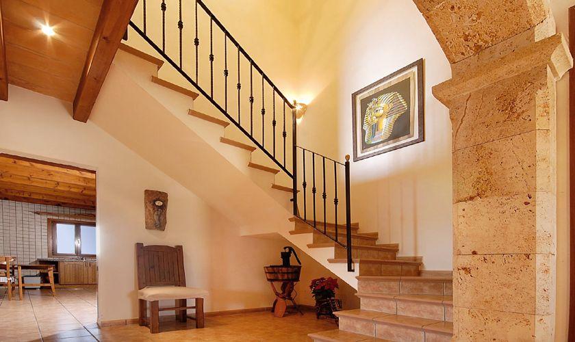 Eingangsbereich Ferienhaus Mallorca Nordküste PM 3926