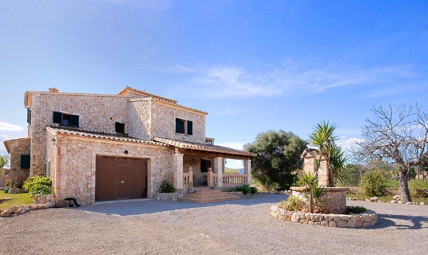 Blick auf die Ferienfinca Mallorca Nordküste PM 3926