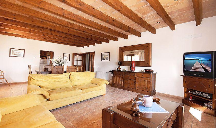 Wohnraum Ferienhaus Mallorca Nordküste PM 3926