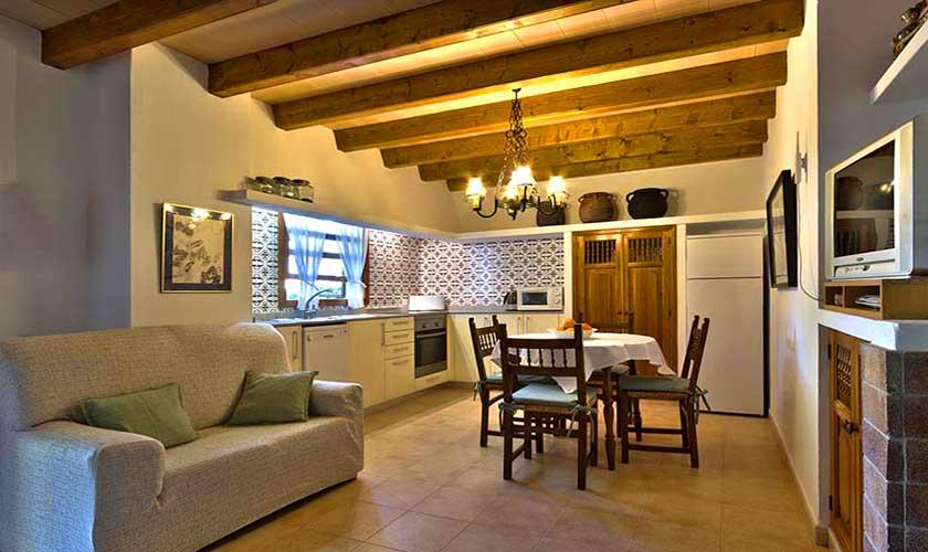 Wohnbereich Finca Mallorca Norden PM 3928