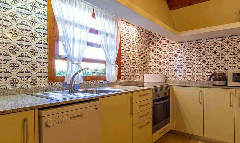 Küche Finca Mallorca Norden PM 3928