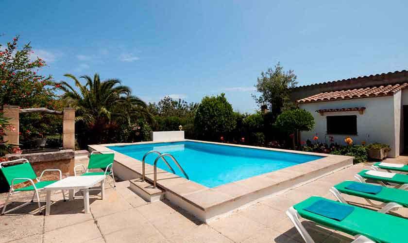 Poolblick Finca Mallorca 4 Personen PM 3928