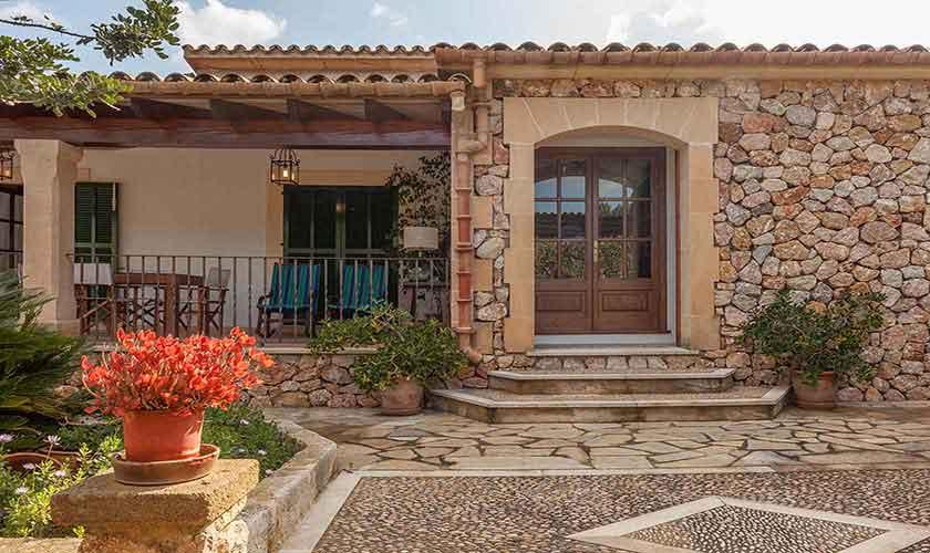 Eingang Finca Mallorca Norden PM 3929