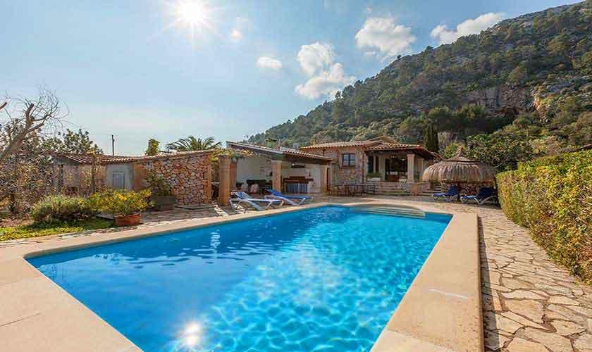 Pool und Finca Mallorca Norden PM 3929