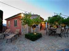 Abendstimmung Ferienhaus Mallorca Pollensa PM 397