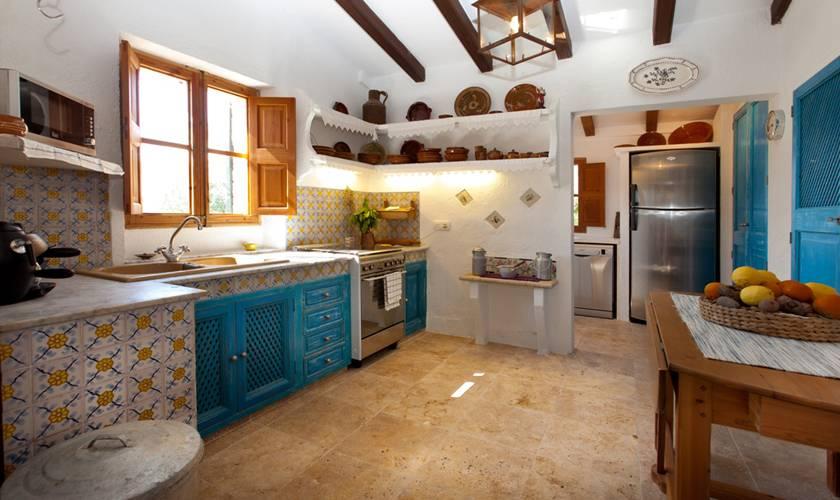 Küche Ferienhaus Mallorca Pollensa PM 397