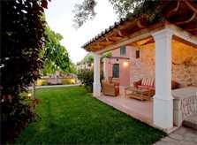 Terrasse Ferienhaus Mallorca Pollensa PM 397