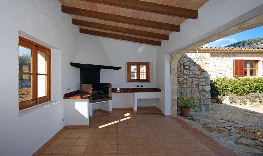 Barbecue Ferienfinca Mallorca für 8 Personen PM 398