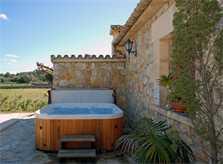 Jacuzzi Ferienfinca Mallorca für 8 Personen PM 398