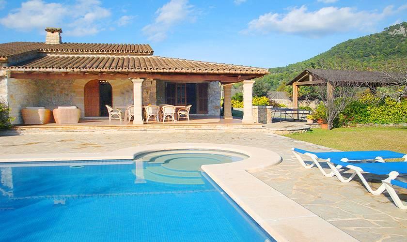 Pool und Finca Mallorca Norden PM 398
