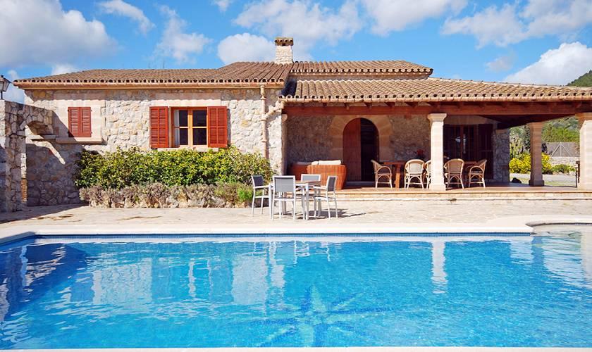 Pool und Finca Mallorca Norden für 8 Personen PM 398