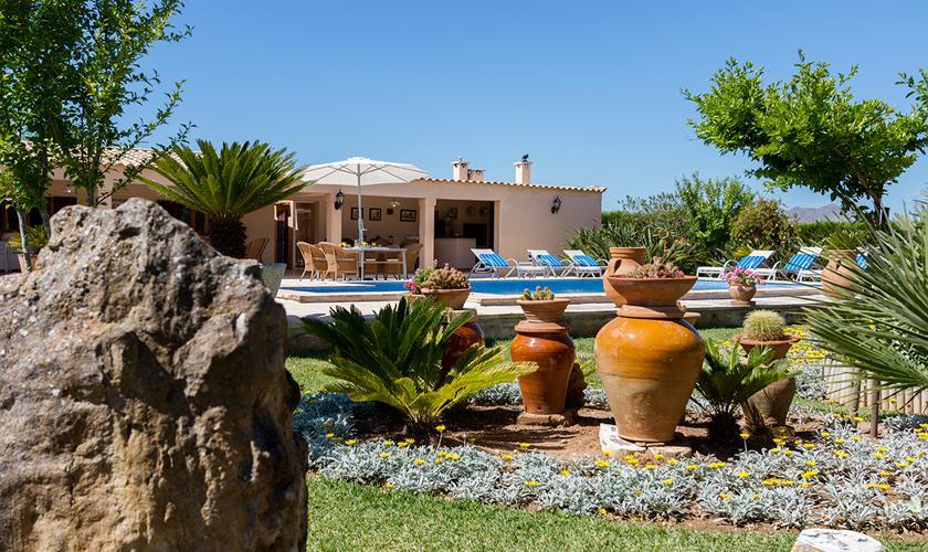 Garten Finca Mallorca Norden PM 3997