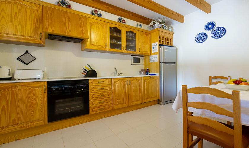 Küche Finca Mallorca Nordküste PM 3997