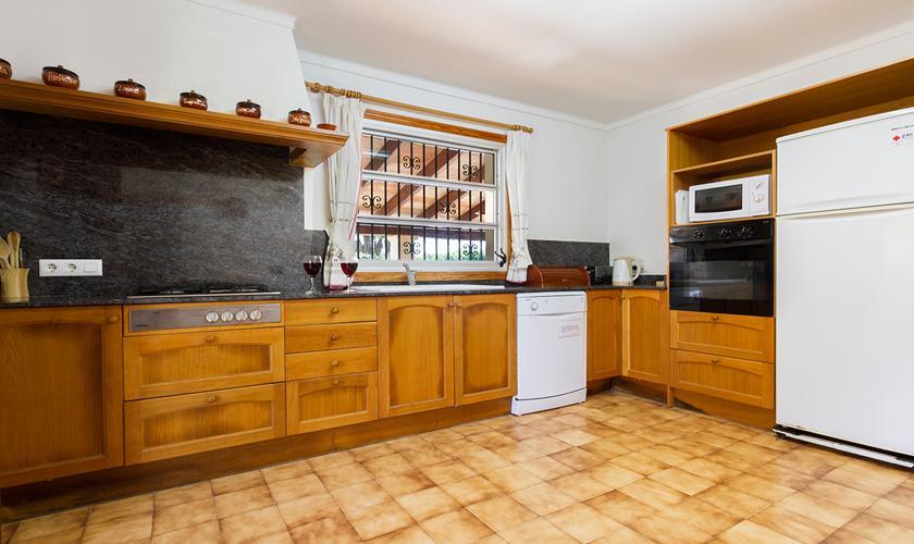 Küche Finca Mallorca Norden PM 3998