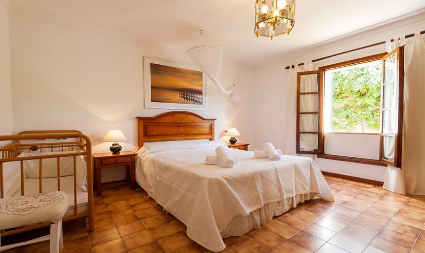 Schlafzimmer Finca Mallorca Norden PM 3998