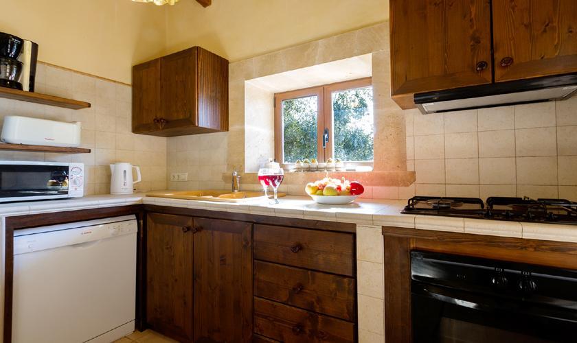 Küche Finca Mallorca Norden PM 3999