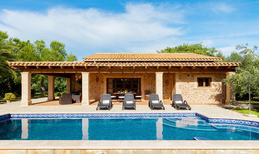 Pool und Finca Mallorca Norden PM 3999