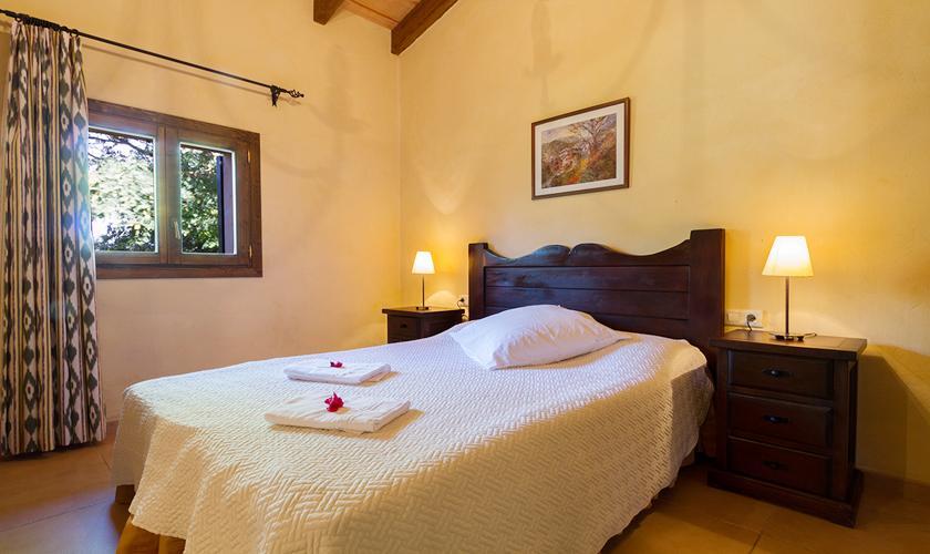 Schlafzimmer Ferienfinca Mallorca Norden PM 3999