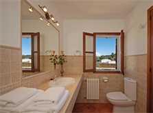 Badezimmer Finca Mallorca für 10 Personen PM 399