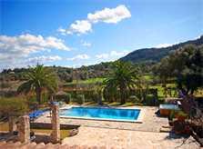 Pool und Blick Finca Mallorca für 10 Personen PM 399