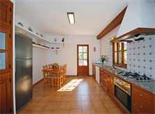 Küche Finca Mallorca für 10 Personen PM 399