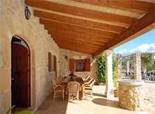 Terrasse Finca Mallorca Pollenca PM 399