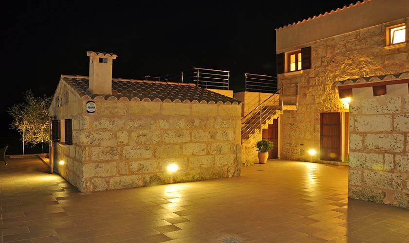 Finca Mallorca PM 422 bei Nacht
