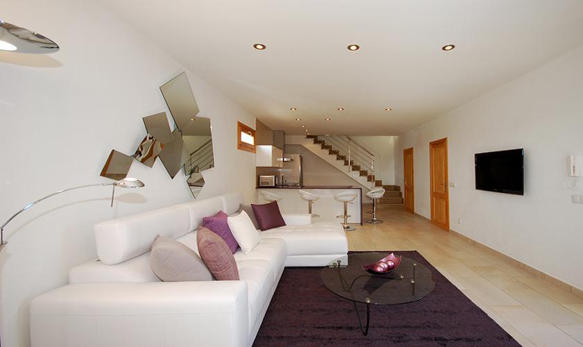 Wohnraum Moderne Finca Mallorca PM 422 für 6 Personen