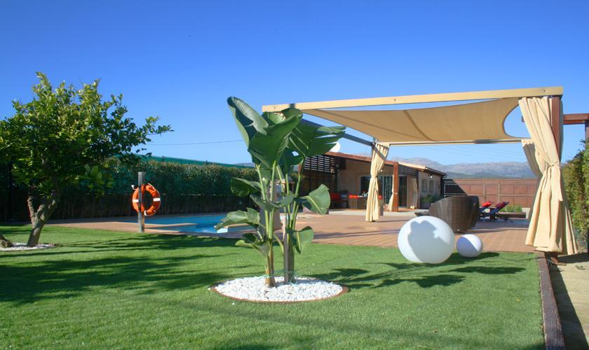 Garten Finca Mallorca 2 Personen PM 426