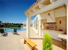 Terrasse Ferienhaus Mallorca Norden PM 4272