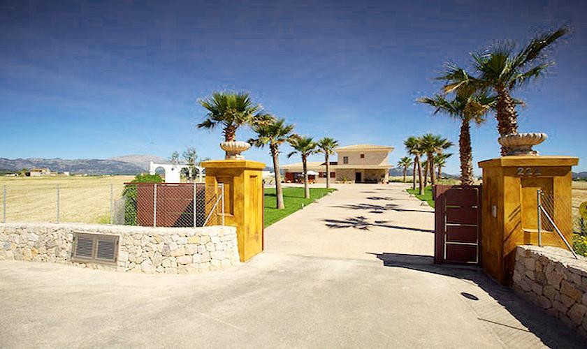 Tor Ferienvilla Mallorca Norden PM 4272
