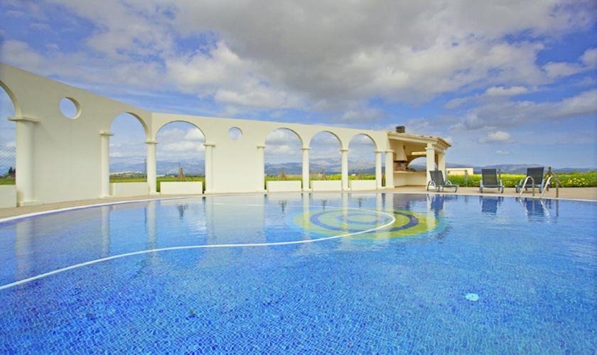 Pool der Ferienvilla Mallorca Norden PM 4272