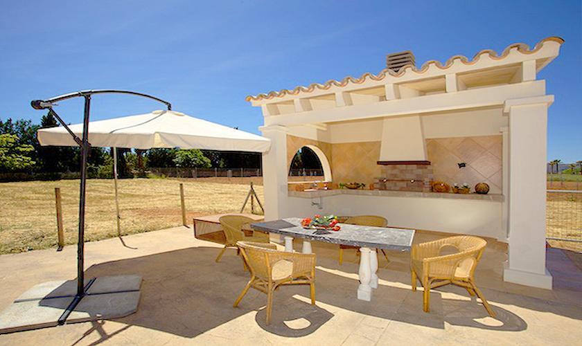 Grillplatz Ferienhaus Mallorca Norden PM 4273