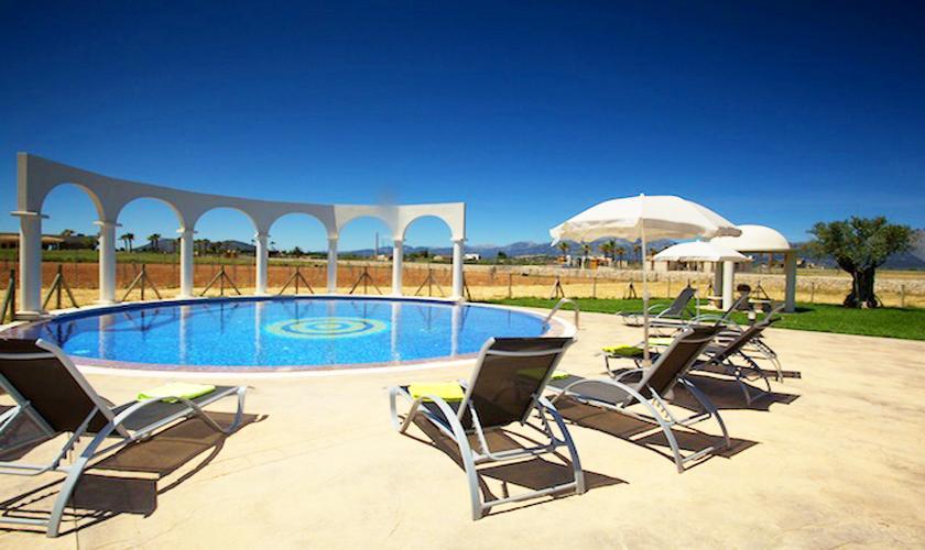 Pool der Ferienvilla Mallorca Norden PM 4273