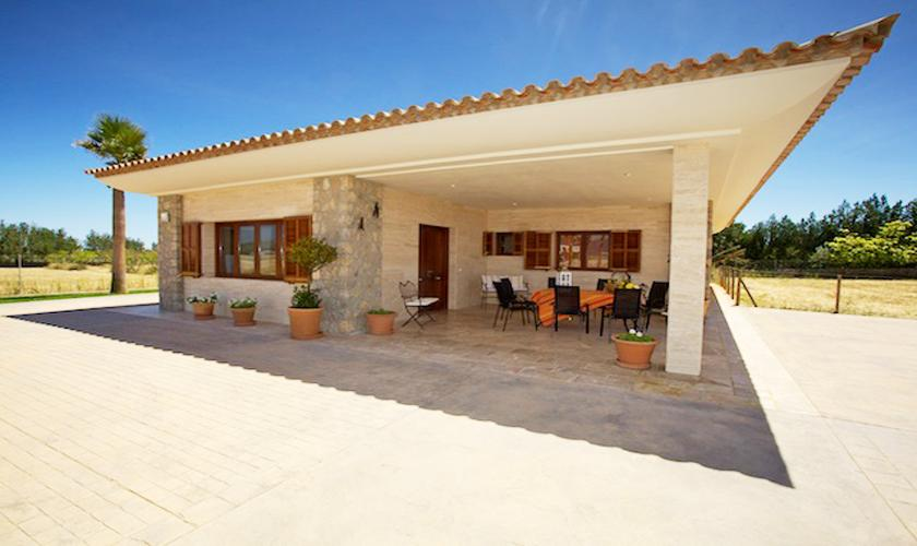 Terrasse Ferienhaus Mallorca Norden PM 4273