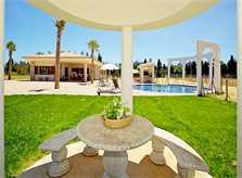 Blick auf die Ferienvilla Mallorca Norden PM 4273