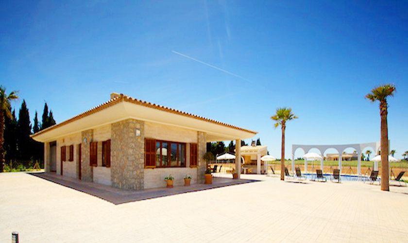 Blick auf das Ferienhaus Mallorca Norden PM 4273