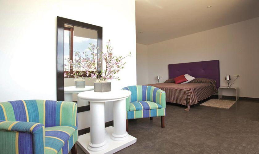 Schlafzimmer Ferienvilla Mallorca Norden PM 427