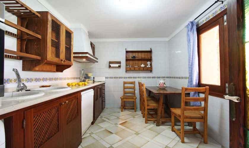Küche Finca Mallorca Norden PM 430