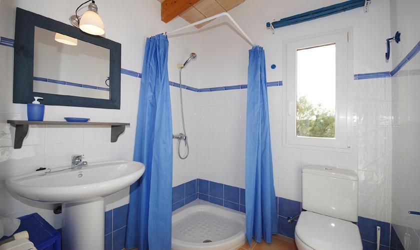 Badezimmer Ferienhaus Meerblick Mallorca PM 440