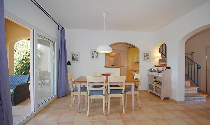 Essplatz Ferienhaus Mallorca PM 440