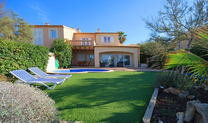Blick auf das Ferienhaus Mallorca PM 440