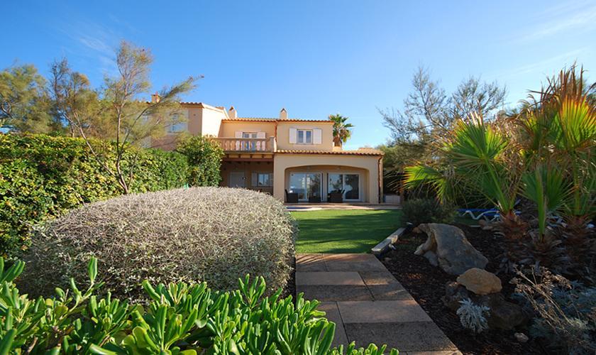 Blick auf das Ferienhaus Meerblick Mallorca PM 440